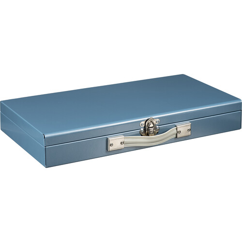 "Logan Electric Slide File #215 For 2 x 2"" Slides - Plastic Tray, Single Latch on Box"