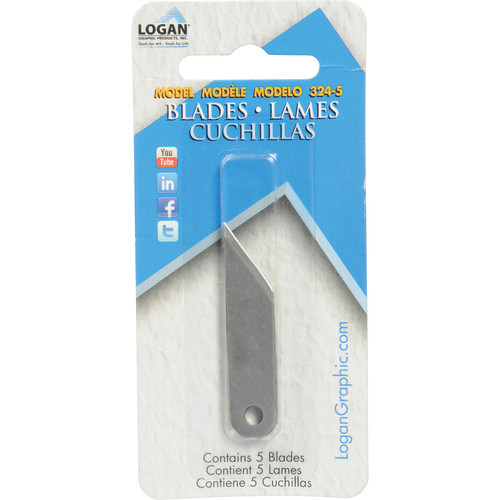 Logan Graphics Blades #324 - 5 Blades