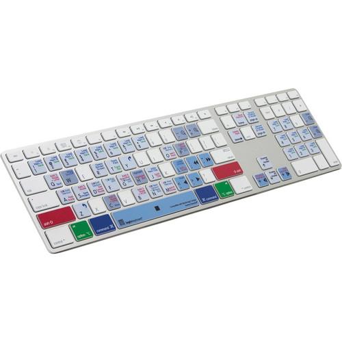 LogicKeyboard DaVinci Resolve Full Size Ultra-Thin Aluminum Keyboard