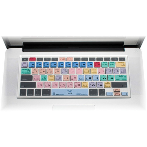 LogicKeyboard Adobe Premiere Pro CS6 - American English MacBook Keyboard Cover