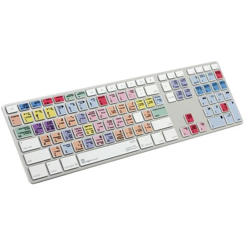 LogicKeyboard Advance Apple Ultra Thin Aluminum Keyboard for Motu Digital Performer
