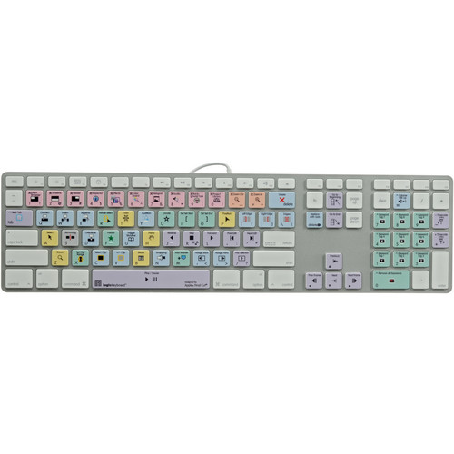 LogicKeyboard Advance Line Final Cut Pro X Ultra-Thin Aluminum Keyboard