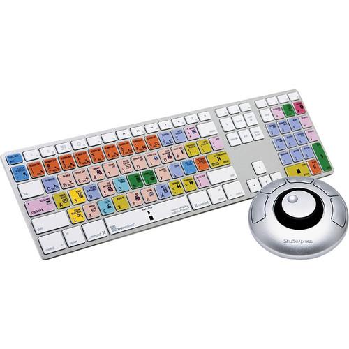 LogicKeyboard Apple Logic 9 Full-Size USB Ultra-Thin Aluminum Keyboard