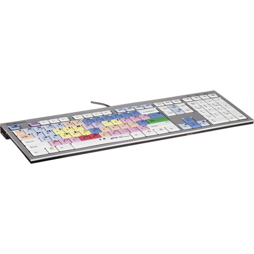 LogicKeyboard Avid Media Composer Slim Line PC Keyboard with 2 Built-In USB Ports