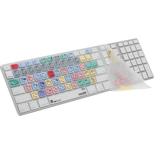 LogicKeyboard LogicSkin Adobe Photoshop CS4 Keyboard Cover for Apple Ultra-Thin Aluminum Keyboard