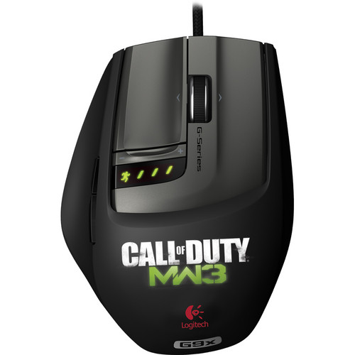 Logitech G9X Gaming Mouse (Made for Call of Duty: Modern Warfare 3)