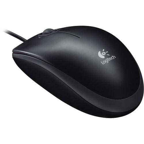 Logitech M110 Optical Mouse - Black