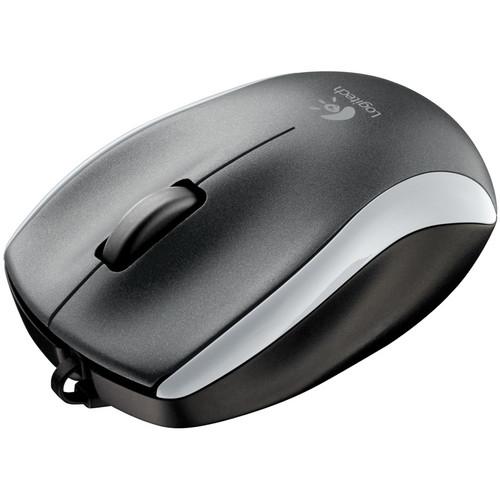 Logitech M125 Mouse - Silver