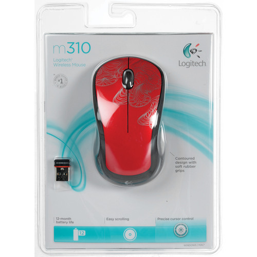 Logitech M310 Wireless Mouse (Silver Filament)