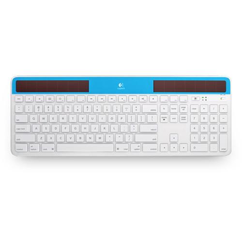 Logitech Wireless Solar Keyboard K750 for Mac (Blue)