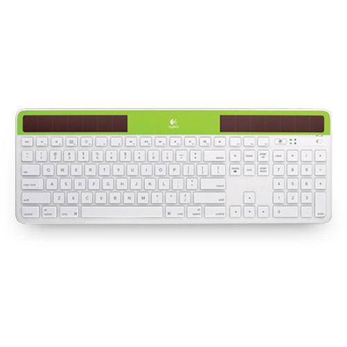 Logitech Wireless Solar Keyboard K750 for Mac (Green)