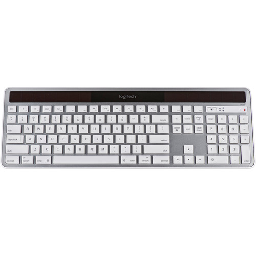 Logitech Wireless Solar Keyboard K750 for Mac (Silver)