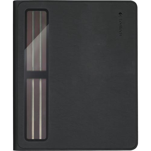 Logitech Solar Keyboard Folio for iPad 2nd, 3rd, and 4th Generation (Black)
