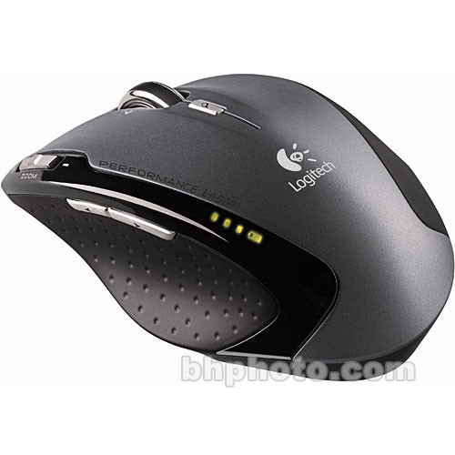 Logitech VX Revolution Wireless Laser Mouse for Laptops - USB