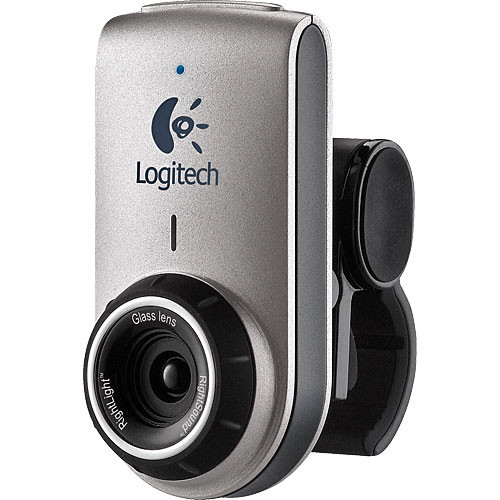 Logitech QuickCam Deluxe for Notebooks - 1.3 Megapixel USB 2.0 Web Cam - Win