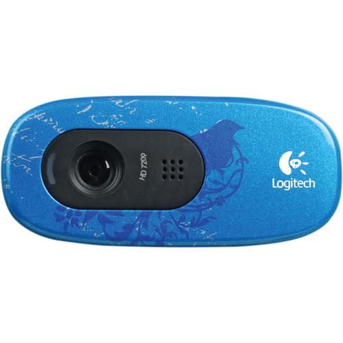 Logitech C270 HD Webcam (Indigo Scroll)