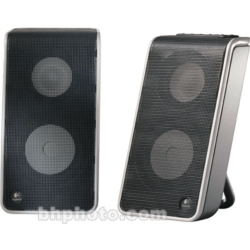 Logitech V-20 Two Piece USB Computer Speaker System