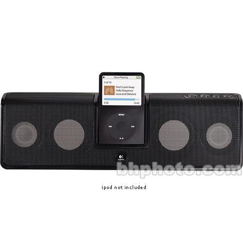 Logitech mm50 Portable Speakers for iPod (Black)