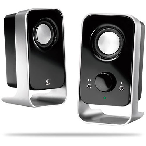 Logitech LS11 2.0 Stereo Speaker System (Black)