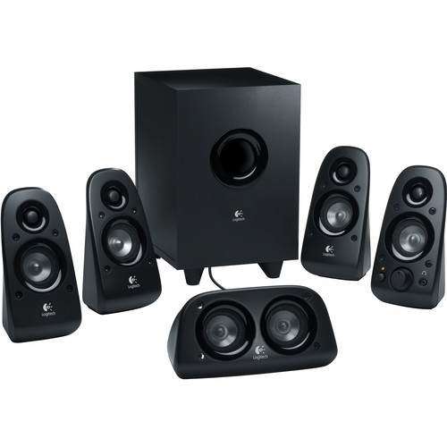 Logitech Z506 5.1 Channel Surround Sound Speakers and Subwoofer