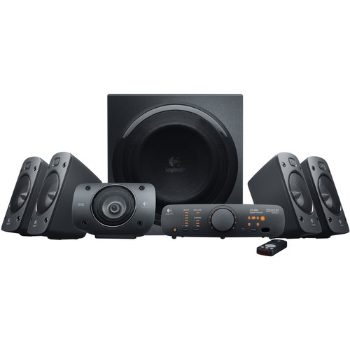 Logitech Z906 Surround Sound THX-Certified 5.1 Speaker System