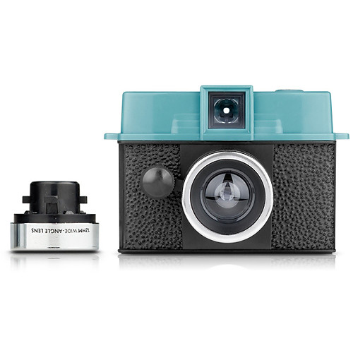 Lomography Diana Baby 110 Camera with 12mm Lens Kit (Teal and Black)