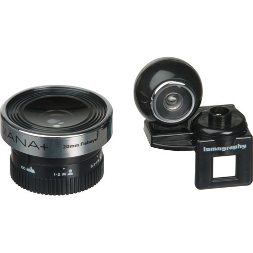 Lomography 20mm Fisheye Lens for Diana+ & Diana F Camera