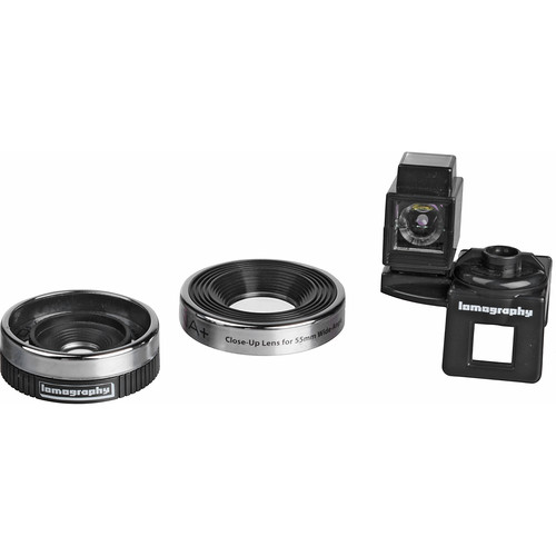 Lomography 55mm Wide Angle Lens & Dedicated Close-Up Lens for Diana+
