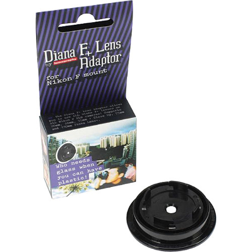 Lomography Diana F+ Nikon SLR Lens Adapter