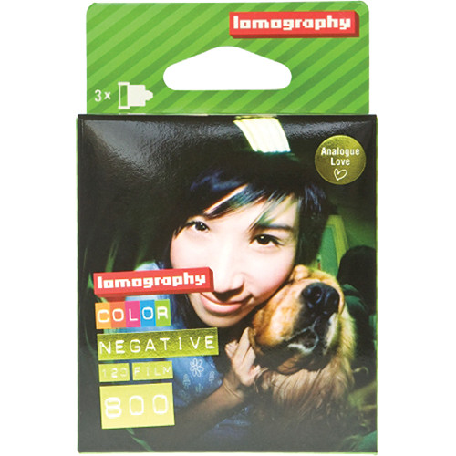 Lomography 800 Color Negative Film (120 Roll Film, 3 Pack)