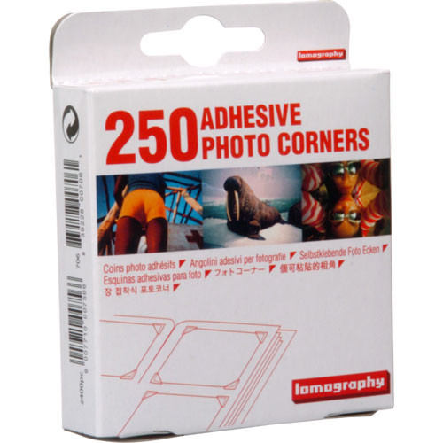 Lomography Adhesive Photo Corners (250 Pack)