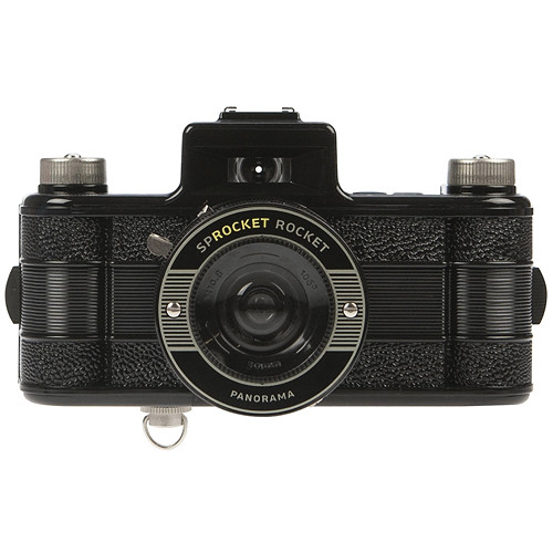 Lomography Sprocket Rocket 35mm Film Camera (Black)