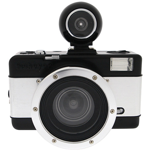 Lomography Lomography Fisheye No.2 35mm Camera (Black and Silver)