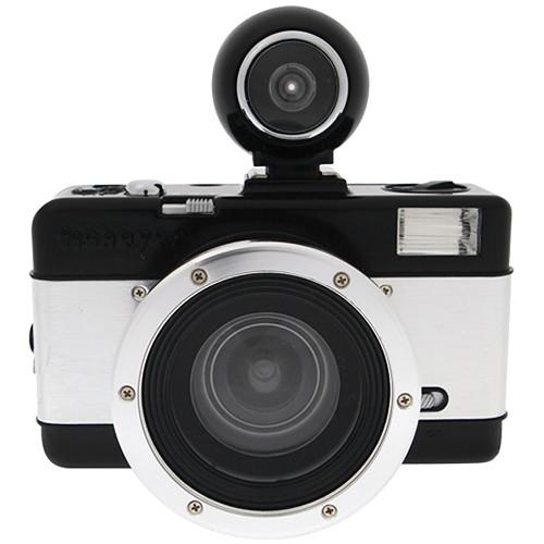 Lomography Lomography Fisheye No.2 35mm Camera (Black and Silver)