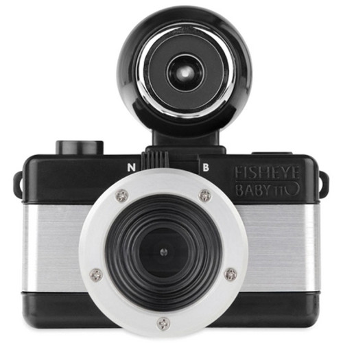 Lomography Fisheye Baby 110 Film Camera (Metal)