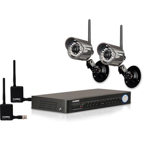 Lorex by FLIR LH114501C2WB Digital Wireless Security Camera System