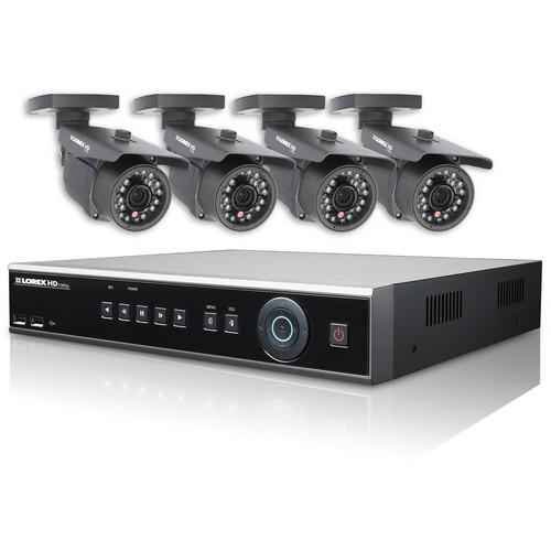 Lorex by FLIR LHD1044001C4 High Definition Security Camera System (4 TB, NTSC)