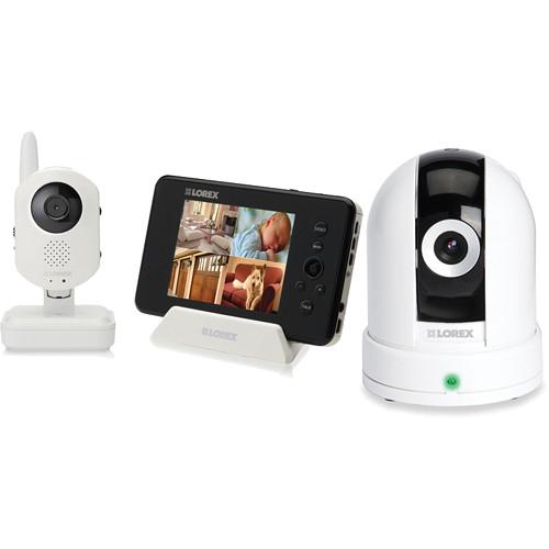 Lorex by FLIR LW2401 LIVE Sense Video Baby Monitor with an Add-On Wireless Camera