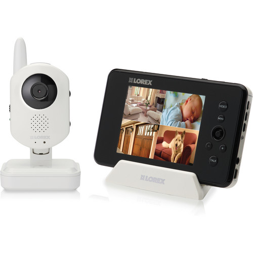 Lorex by FLIR LW2401 LIVE Sense Video Baby Monitor