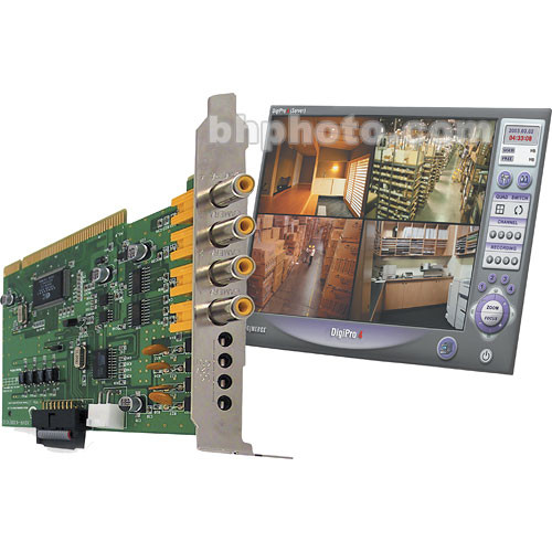Lorex by FLIR QLR0440 4-Port PCI Video Capture Board