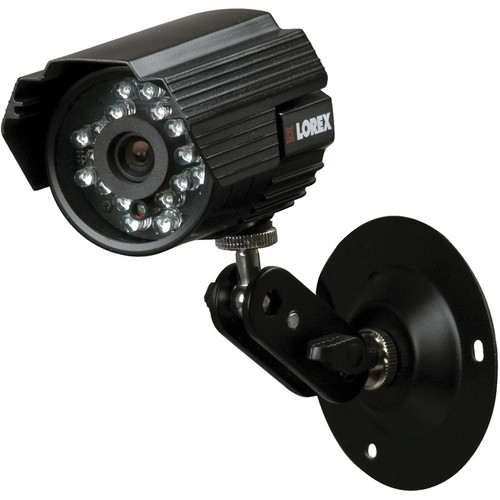 Lorex by FLIR High Resolution Weatherproof Color Night Vision Camera with Audio