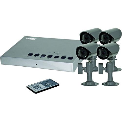 Lorex by FLIR SHS-4QM Quad Surveillance System