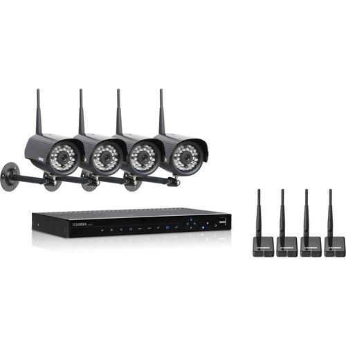 Lorex by FLIR LH3381001C4WB Vantage Edge2 Security Camera System