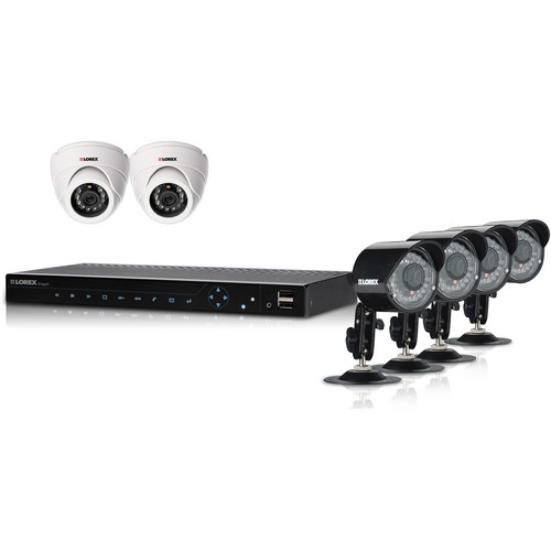 Lorex by FLIR LH3381001C6B Security Camera System