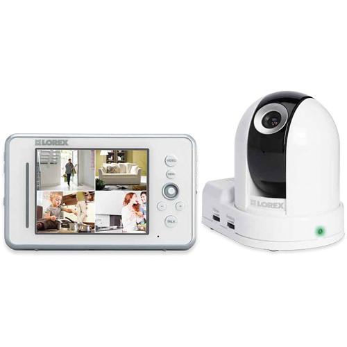 Lorex by FLIR LW2450 LIVE Sense PT Wireless Video Home Monitoring System