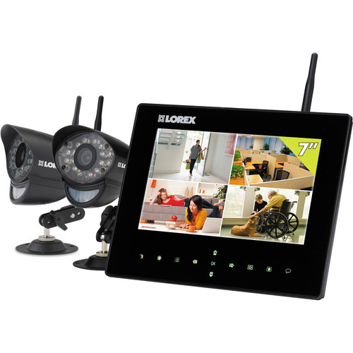 "Lorex by FLIR SD7+ Wireless Video Monitoring System with 7"" LCD Monitor"