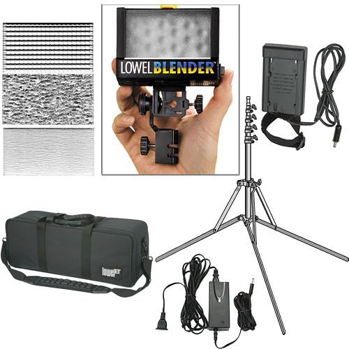 Lowel Blender LED 1-Light Kit (120/240 VAC / 12 VDC)