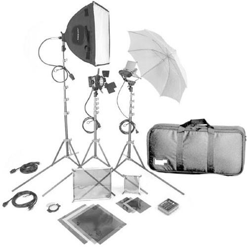 Lowel DV Core 250 Kit, LB30 Soft Case