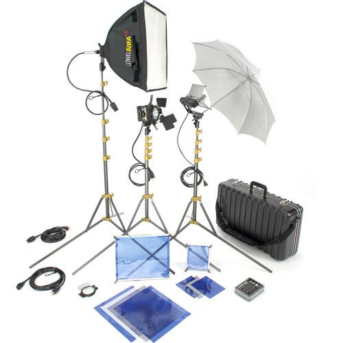 Lowel DV Core 250 Kit with GO-85 Case