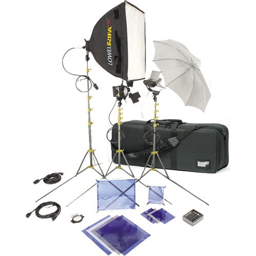 Lowel DV Core 500 Kit with LB35R Case